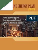 Philippine Energy Plan 2007 - 2014