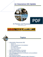 Dod Ndia Information Assurance Policies and Procedures Brief 03-25-2010
