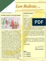 Abhyaas Law Bulletin - March 2013