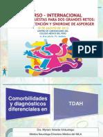 II Curso - Internacional -Transtorno Deficitario de Atencion HIperactvidad- IMLA DRA MYRIAM VELARDE
