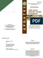 Tiger Grass Industry Studies in Romblon