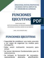 Funciones Ejecutivas -Dra Meza