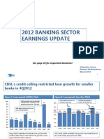 Banking Sector 4Q2012-Earnings Update