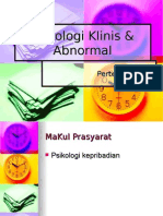 Psikologi Klinis & Abnormal ,ppt
