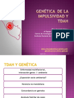 Genética de la Impulsividad en TDAH- DOCTORA MASSETTI