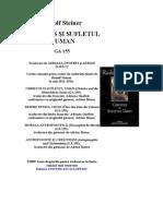 Rudolf Steiner - Antroposofie Si Crestinism