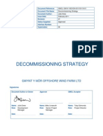 Decommissioning Strategy in Wind Turbine