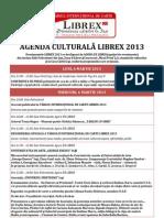 Agenda Culturala LIBREX 2013 in Constructie Noul Design