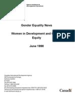 Gender Equality News