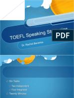 TOEFL Speaking Strategies