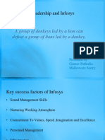 50173377 Leadership and Infosys