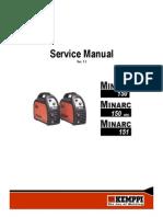 Minarc 150,151 Service Manual