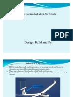 Micro Aerial Vehicle