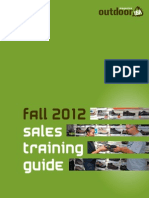 Sales Training Guide and Destinations