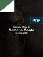 Cuenca Semana Santa 2013