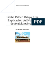 Geshe Palden Dakpa Una Explicación del Nombre de Avalokiteshvara.