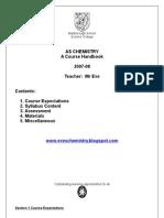 As Chemistry Handbook