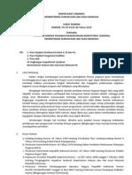 Surat Edaran Penilaian Kinerja Pegawai