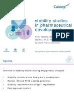 Catalent_ Stability Studies in Pharmaceutical Development