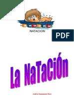 LA NATACIÓN Trabajo Andrea