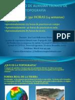 CURSO BÁSICO DE AUXILIAR TÉCNICO DE TOPOGRAFÍA. presentacion