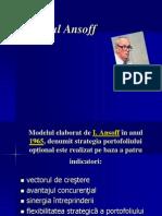 Modelul Ansoff