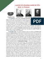 IX La Poesie de La IIe Moitie Du XIXe s. Le Parnasse