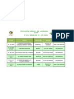 Calendario II Liga Bmp 2012