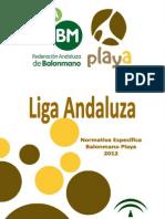Liga de Andalucia Bm Playa 2012