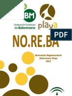 Noreba Bm Playa 2012