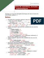 3 - Exercices HTML Caracteres Speciaux Styles Et Tailles de