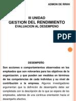 III UNIDAD EVALUACION AL DESEMPEÑO(1).ppt