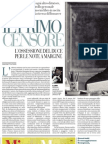 Mussolini Censore, La Cultura Italiana Tra Censura Ed Asservimento - La Repubblica 11.03.2013