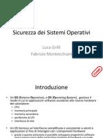 D12 Sicurezza Dei Sistemi Operativi
