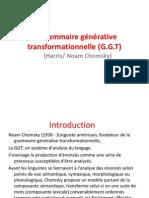La grammaire générative transformationnelle (G.ppt