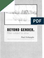 Beyond Gender - Paul Verhaeghe