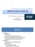 OBIEE Answers Traing