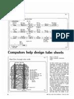 Design Tube Sheets