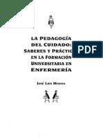 La Pedagogia Del Cuidado - Saberes y Praticas - Jose Luis Medina