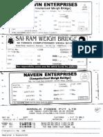Weighment Slips - MODELS Final