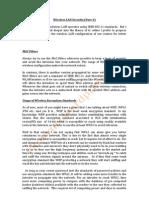 Wireless LAN Security( Part-1)