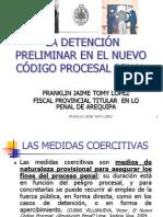 La Detencion Preliminar en El NCPP