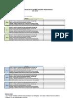Registro de Practicas Pre Profesionales 2011-2012