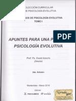 Apuntes para una posible psicología evolutiva