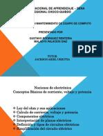 Diapositiva de Conceptos de Voltaje,Potencia