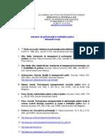 Indicatori de Performanta in Institutiile Publice