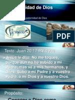 La Paternidad de Dios 3-10-13