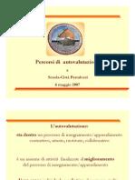 Presentazione del lavoro sull'autovalutazione - Esperienza di matematica del II Biennio2006-07