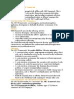 Introduction to .NET Framework