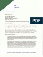 IOGA of NY Letter to Senator David Carlucci